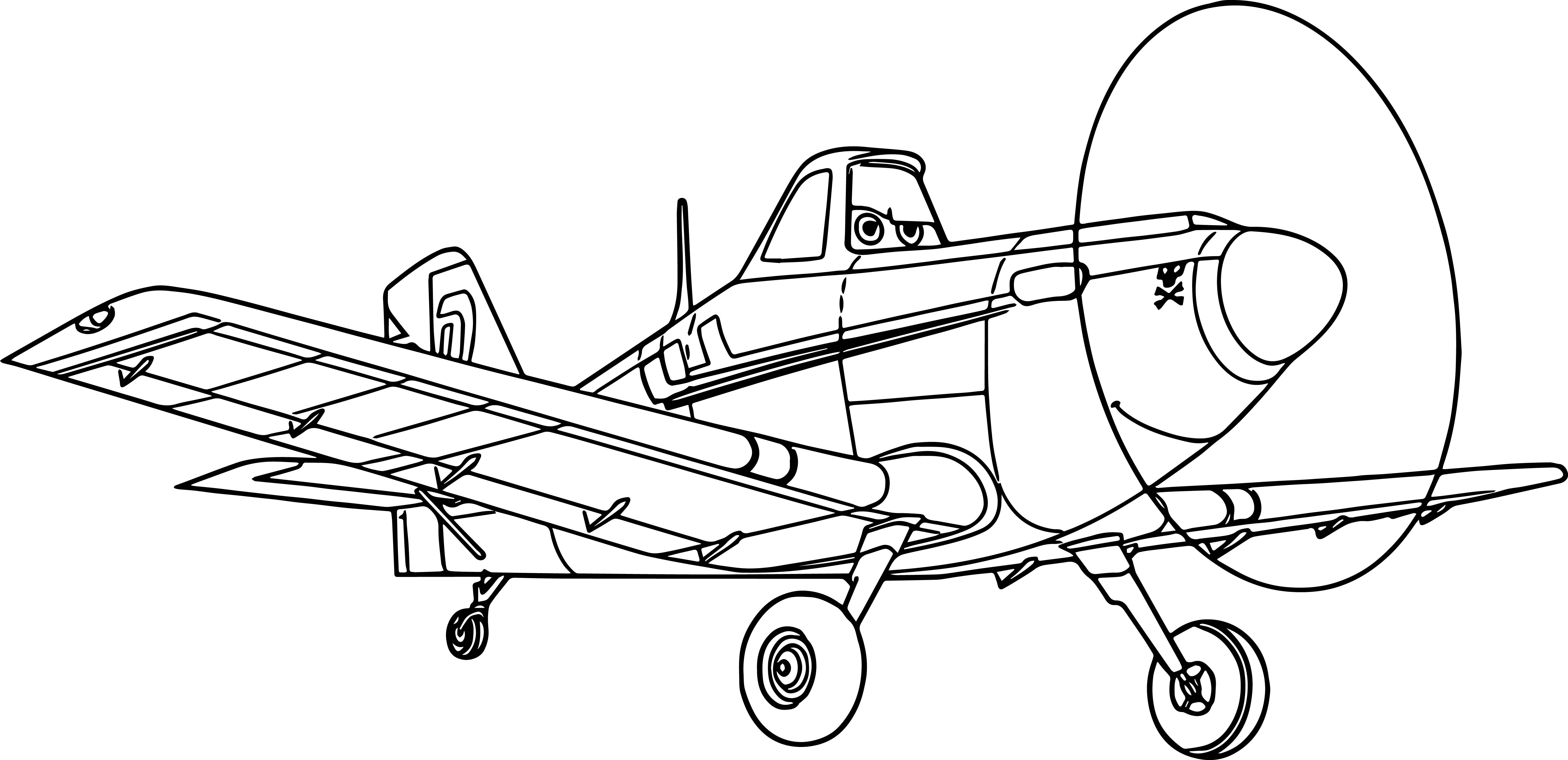 Disney Planes Coloring Pages : Disney planes dottie coloring pages