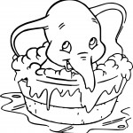 dumbo bath 2 coloring pages