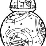 star wars the force awakens bb8 robot coloring page