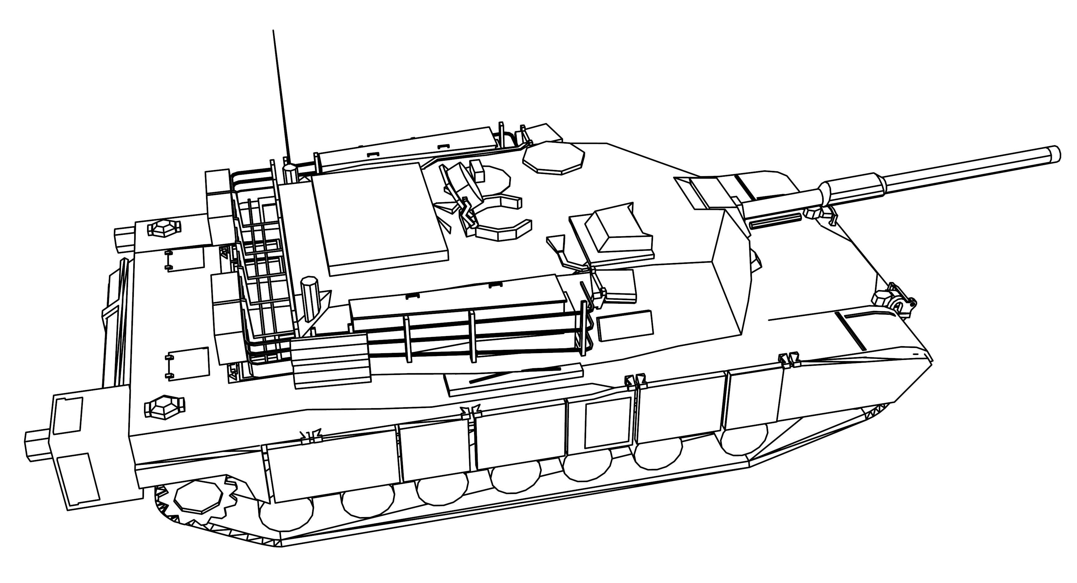 abrams tank coloring page click the m1