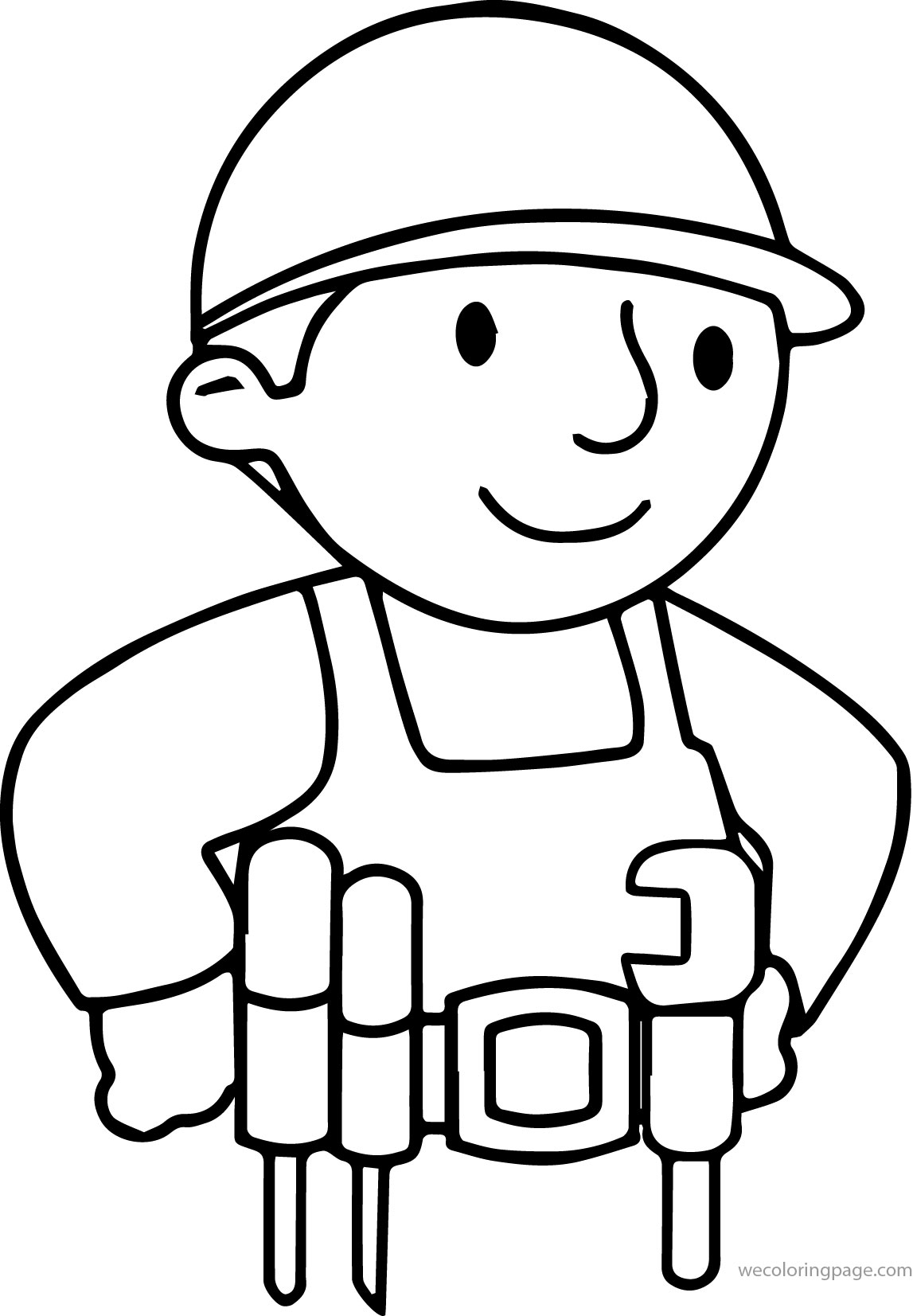 Basic Bob The Builder Coloring Page