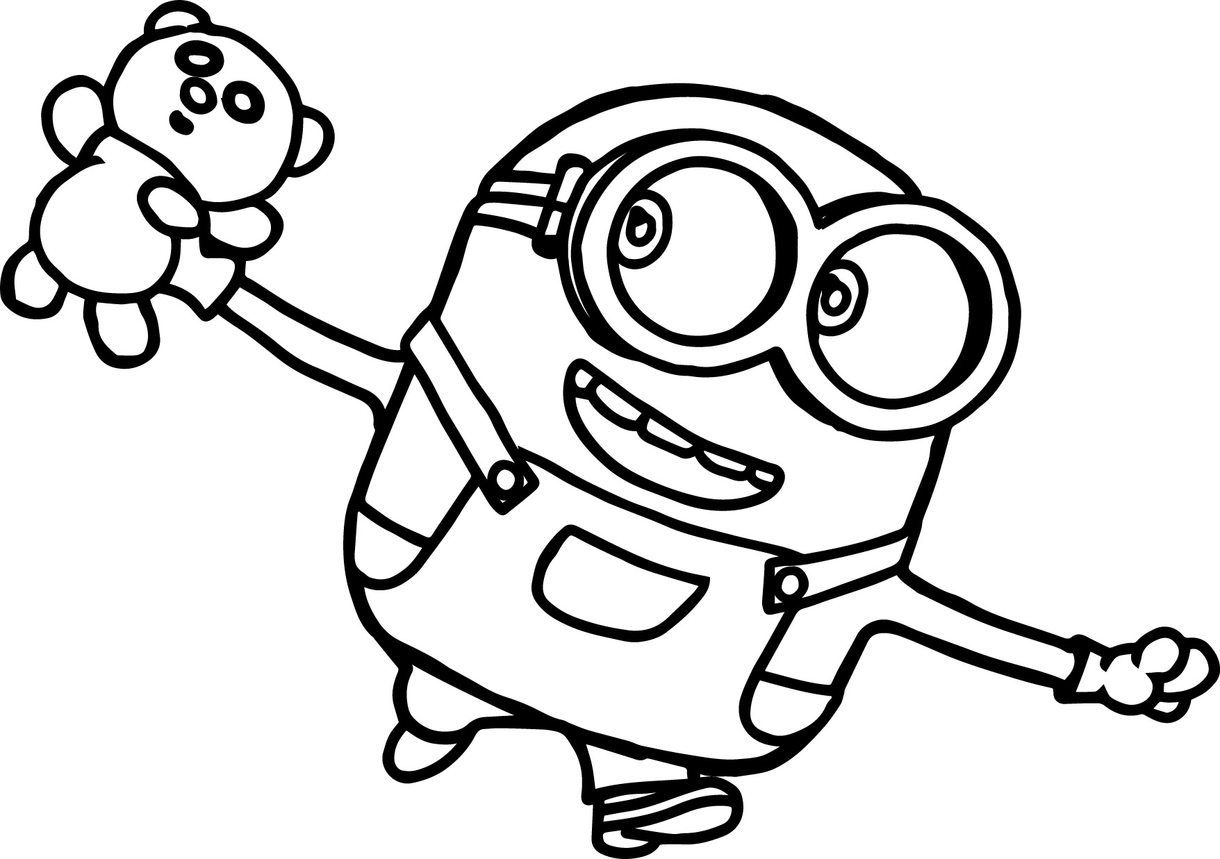 Minion Bob Coloring Sheets Coloring Pages