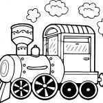 Chuff Chuff Train Coloring Page