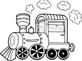 Chuff Chuff Train Coloring Page