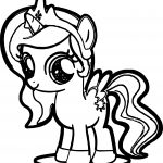 Cute Pony Coloring Page