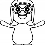 Cute Pororo Coloring Pages