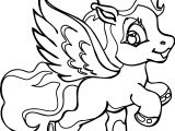 Flying My Little Pony Coloring Page