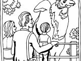 giraffe zoo coloring page