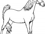 Good Horse Coloring Page