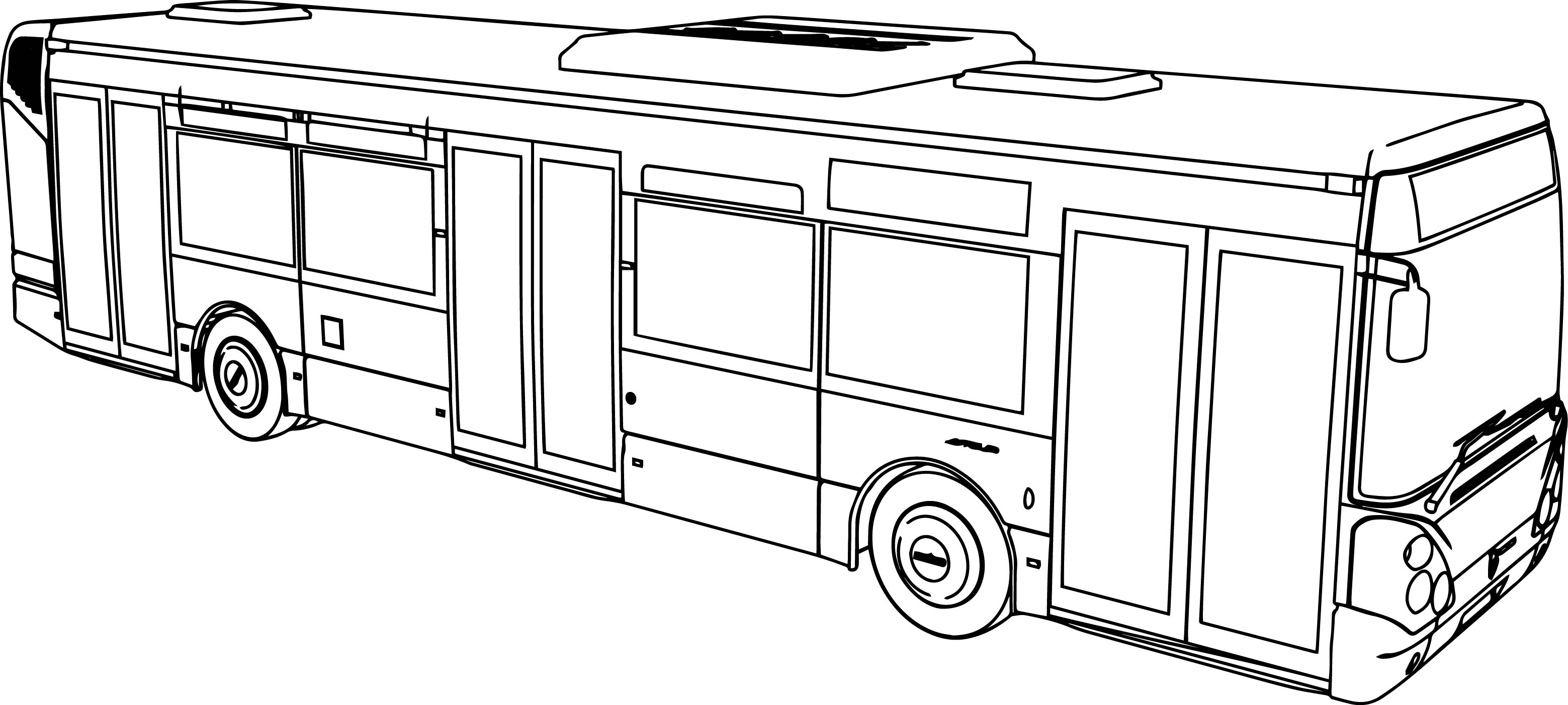 Irisbus Citelis Bus Coloring Page