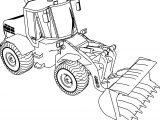Jcb 135b Bulldozer Ladle Coloring Page