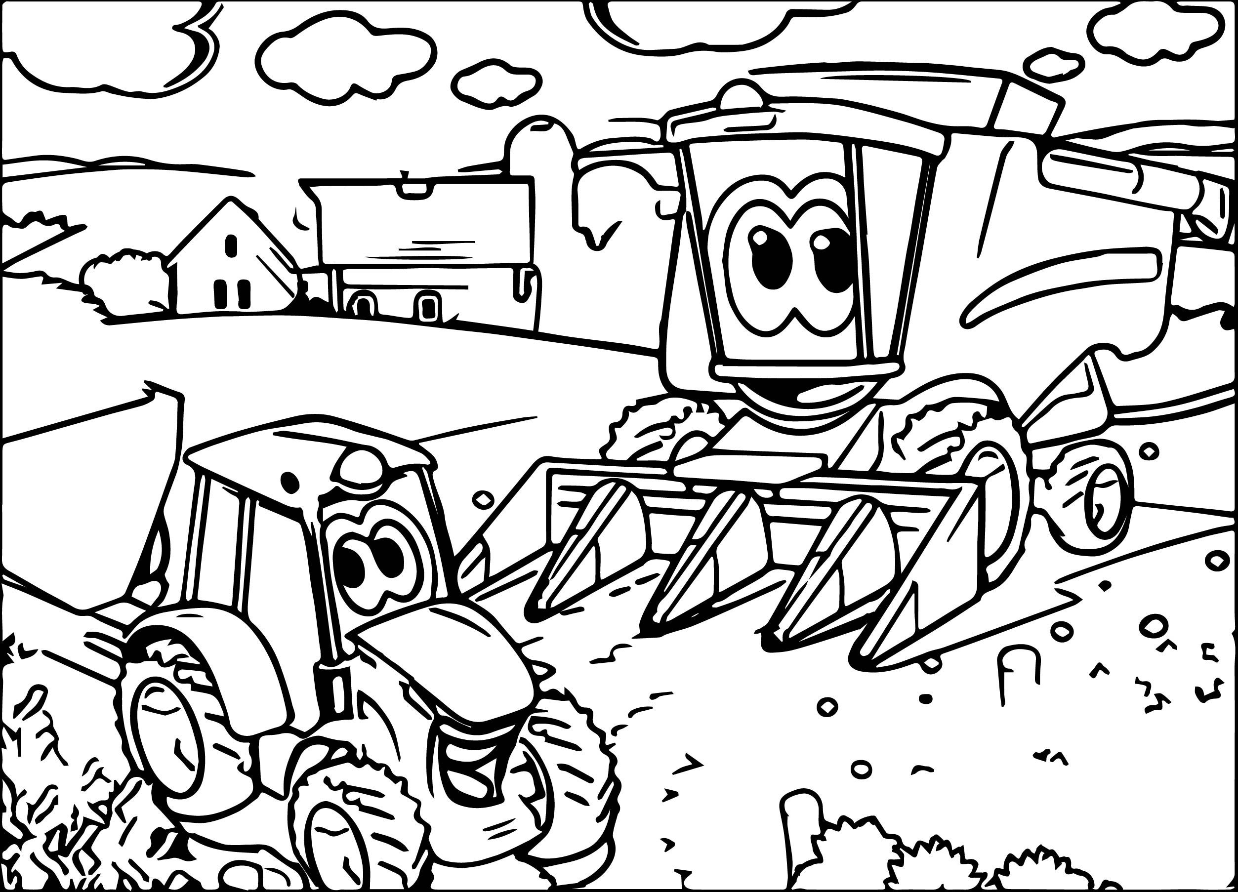 John deere tractor pages printable coloring pages for Tractor template to print