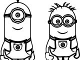 kevin bob despicable me 2 minions coloring page