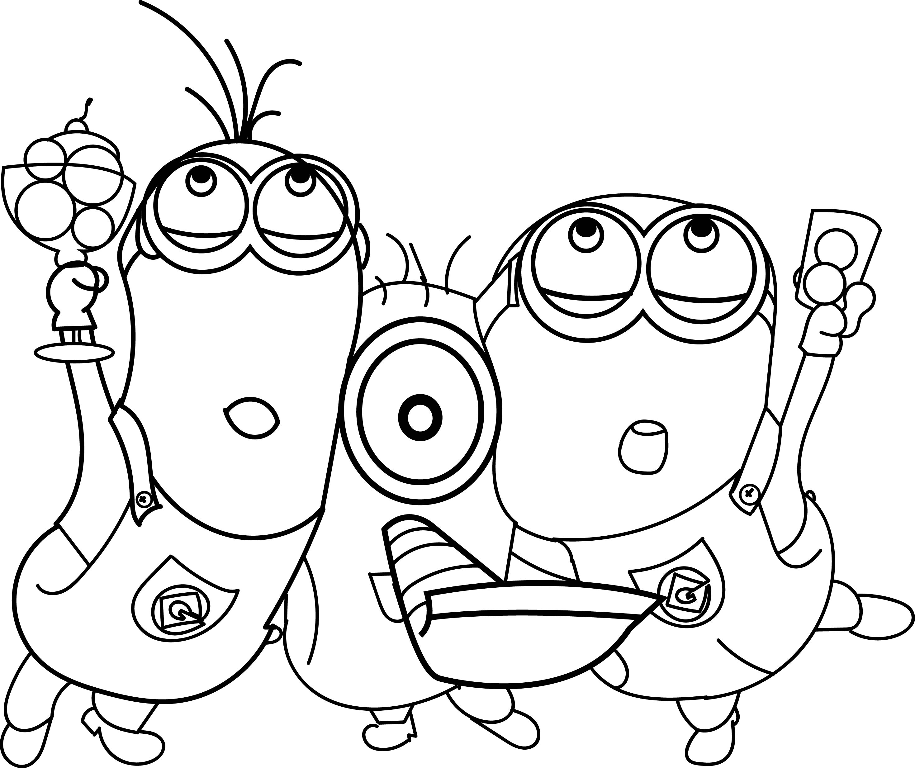 97 Minion Coloring Pages Soccer Player Wecoloringpage Free