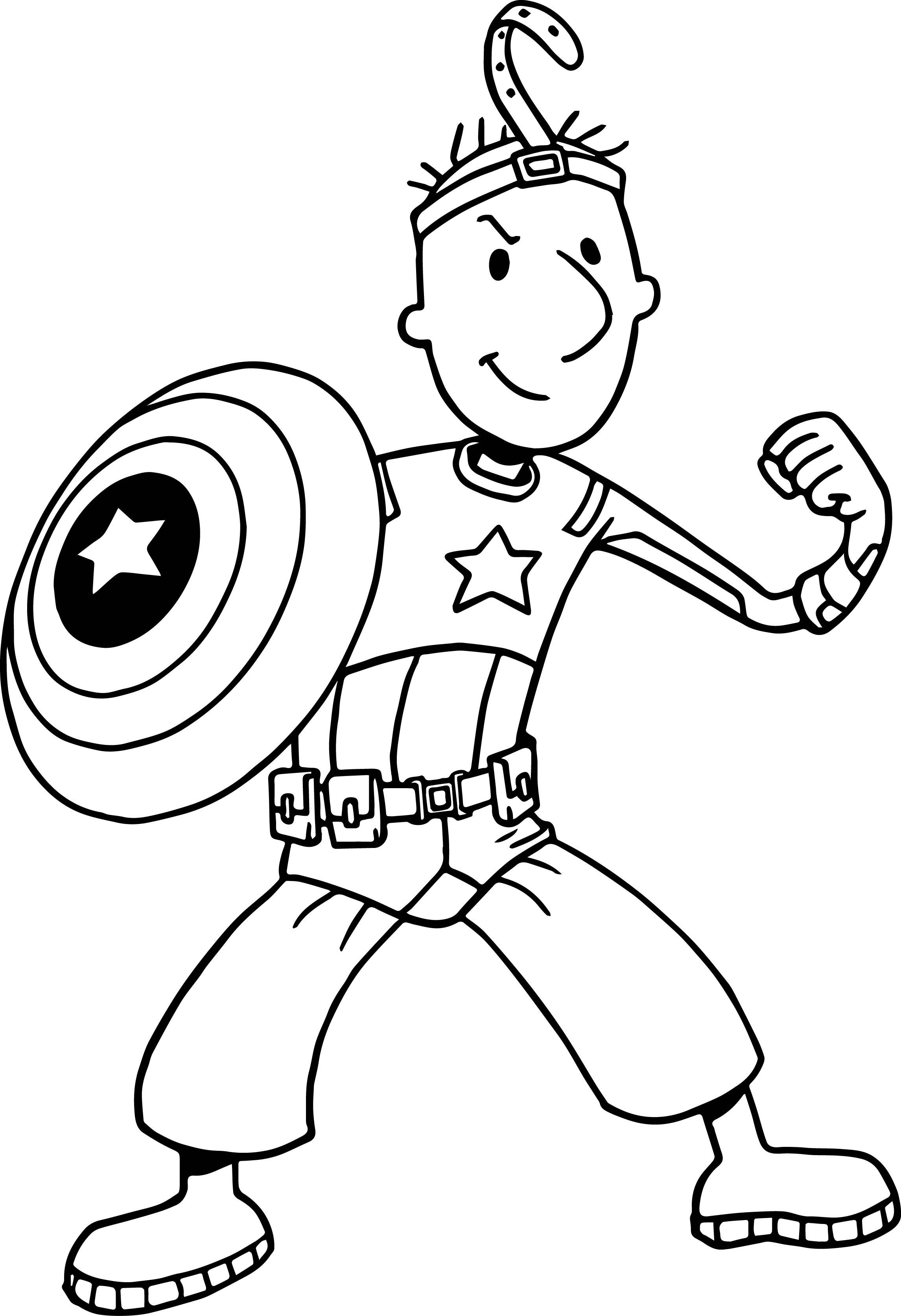 nickelodeon avengers doug coloring page wecoloringpage