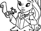 Nove Princess Coloring Page