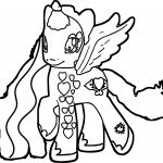 Perfect My Little Pony Coloring Page