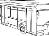 Renault Agora RATP Bus Coloring Page