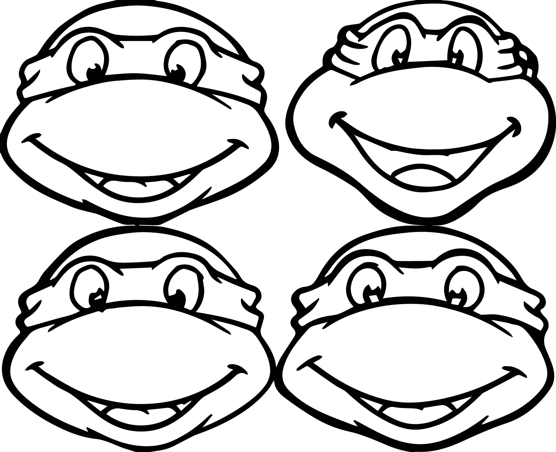 Teenage mutant ninja turtles coloring pages for Turtle coloring pages