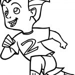 The Incredibles Walk Kid Coloring Pages