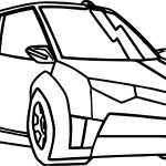 Transformers Car Coloring Page