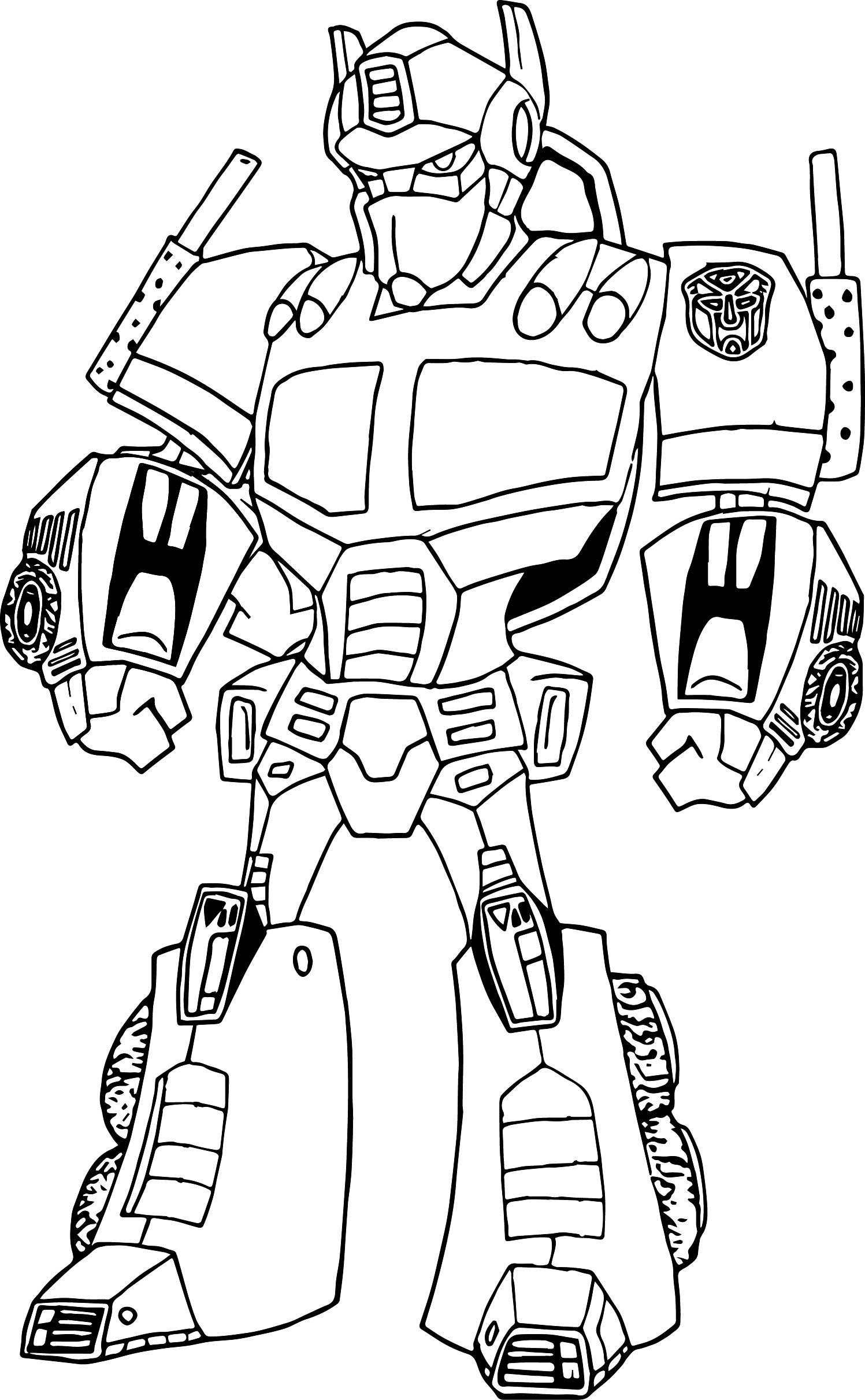 Best Optimus Prime Face Coloring Pages Pictures New Printable
