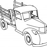XNA Pickup Truck TF2 Coloring Page