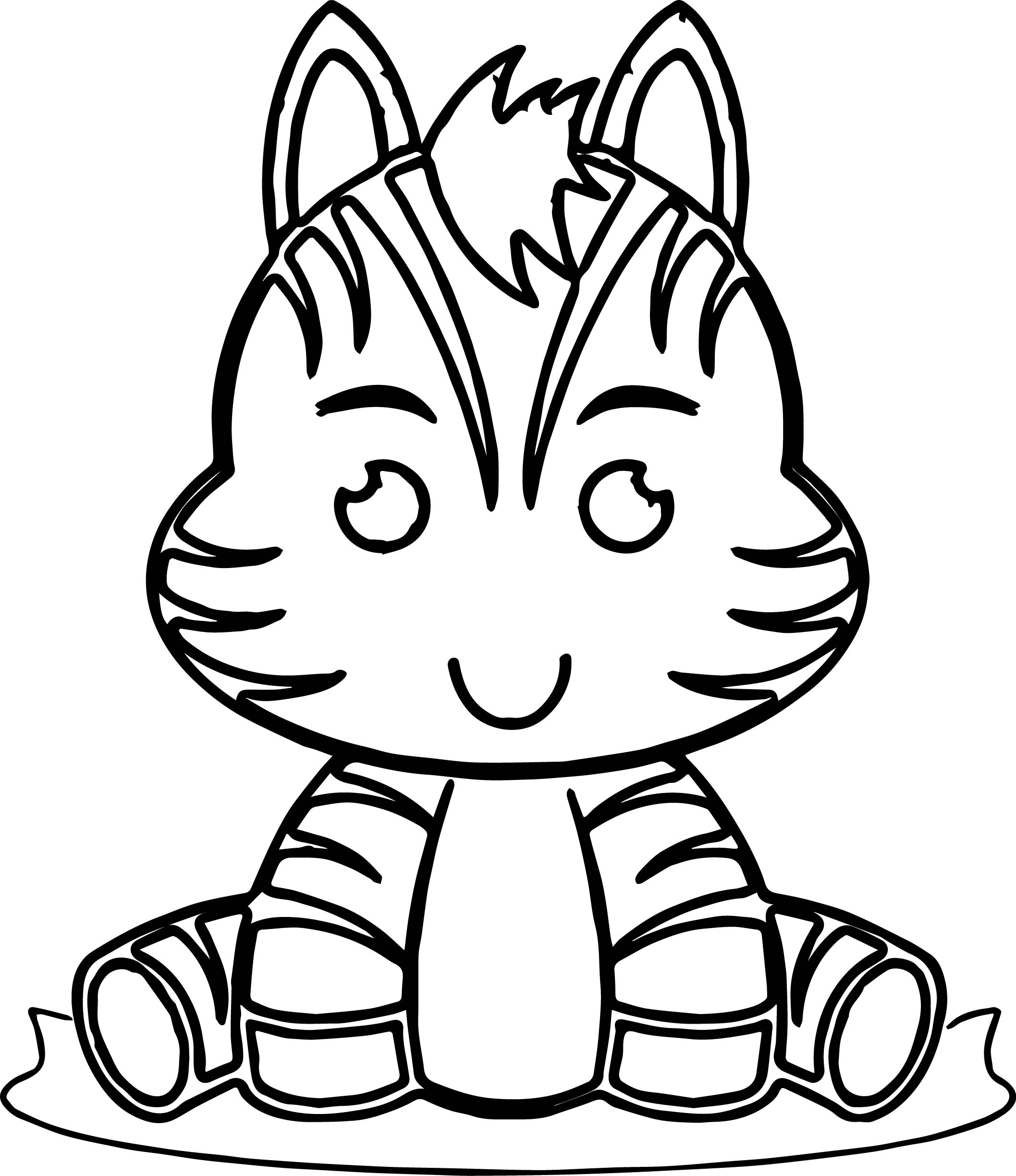 Zebra Zoo Wild Animals Miss Kate Cute Coloring Page