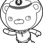 Captain Barnacles Helmet Underwater Coloring Page