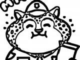 Clawhauser zootopia basic coloring page