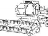 Yenisei 1200 Work Vehicle Coloring Page