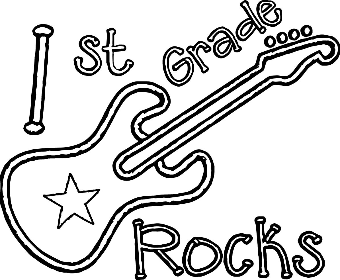 First Grade Coloring Pages Free - Democraciaejustica