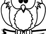 1st Grade School Owl Coloring Page
