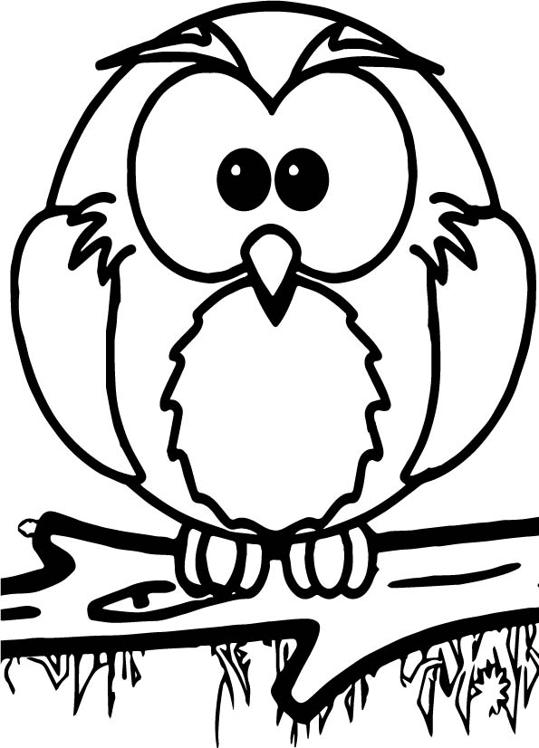 1st grade school owl coloring page for Coloring pages for first graders