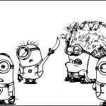 2014 Despicable Me 2 Minions Coloring Page