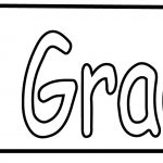 3rd Third Grade Pen Coloring Page