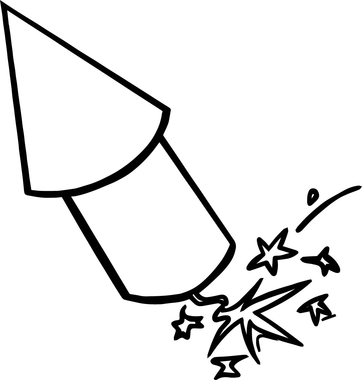 4th Of July Rocket Coloring Page | Wecoloringpage.com