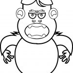 Abominable Snowman Facts Coloring Page