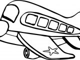 Airplane Bus Coloring Page