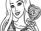 Barbie Sugar Coloring Page