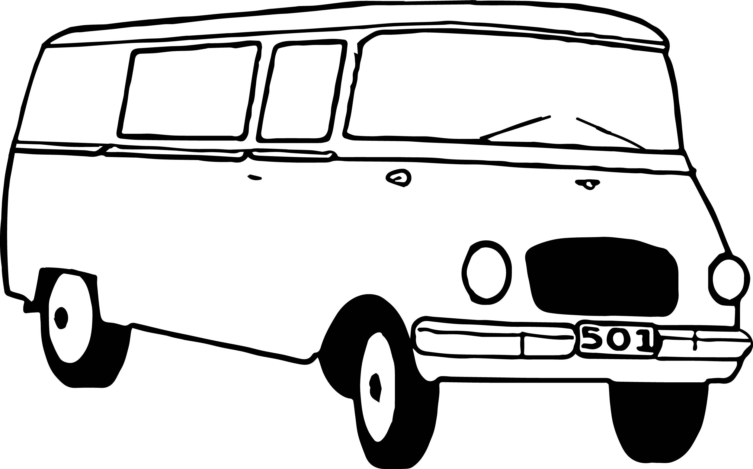 Basic Car Coloring Pages : Basic car coloring pages