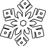 Beautiful Snowflake Coloring Page