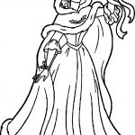 Belle Disney Star Princess Coloring Page