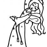 Cartoon Flying Fairy Princess Magic Wand Coloring Page