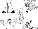 Chhota Bheem Coloring Pages