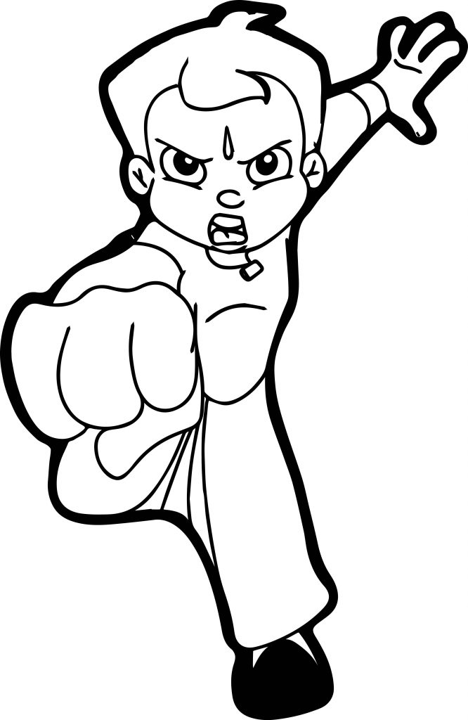 chhota bheem coloring pages - photo#14