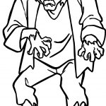 Creature Scooby Doo Coloring Page