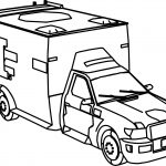 Fire Department Car Crysis Coloring Page