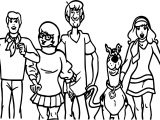 Free Scooby Doo Family Coloring Page