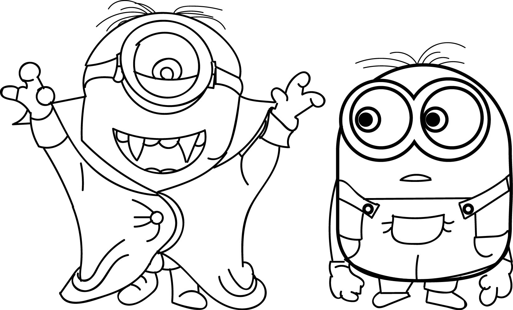 minion magician coloring page free